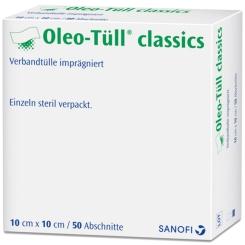 Oleo Tüll® classics 10 x 10 cm Streifen
