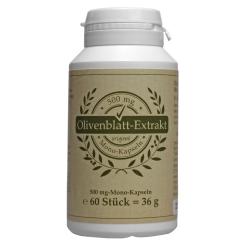 Olivenblattextrakt 500 mg Mono-Kapseln