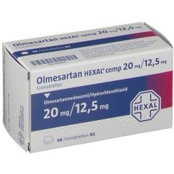 OLMESARTAN HEXAL comp 20/12,5 mg Filmtabletten