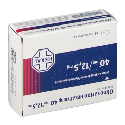 OLMESARTAN HEXAL comp 40/12,5 mg Filmtabletten