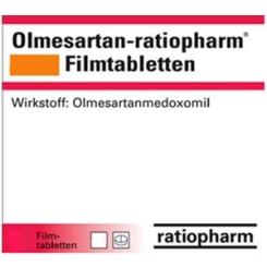 OLMESARTAN-ratiopharm 40 mg Filmtabletten