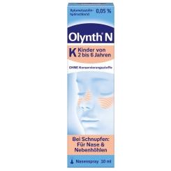 Olynth® N 0,05% Schnupfen Dosierspray ohne Konservierungsstoffe