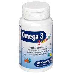 Omega 3 Junior Fischöl-Kaukapseln