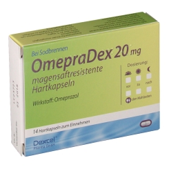 OmepraDex 20 mg