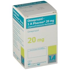 OMEPRAZOL 1A Pharma 20 mg magensaftresis.Hartkaps.
