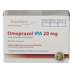 Omeprazol 20 mg IPA