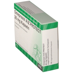 Omeprazol AbZ PROTECT 20 mg Kapseln