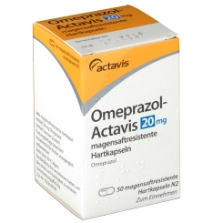 OMEPRAZOL Actavis 20 mg Hartkaps.magens.r.