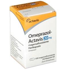 OMEPRAZOL Actavis 20 mg