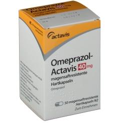 OMEPRAZOL Actavis 40 mg magensaftres. Kapseln