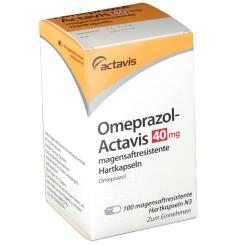 OMEPRAZOL Actavis 40 mg magensaftres.Kapseln