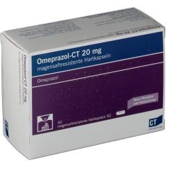 Omeprazol- Ct 20 mg Hartkapseln