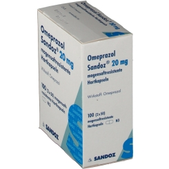 Omeprazol Sandoz 20 mg Kapseln magensaftr.