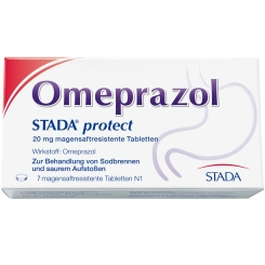 Omeprazol STADA® protect 20 mg magensaftresistente Tabletten
