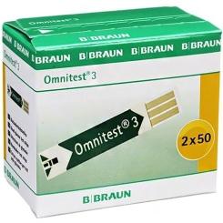 Omnitest® 3 Blutzucker Sensoren Teststreifen