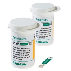 Omnitest® 3 Blutzucker Teststreifen