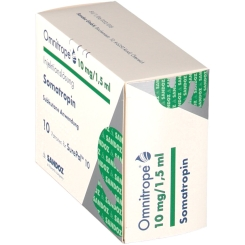 OMNITROPE 10 mg/1,5 ml Injektionslösung f.SurePal