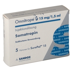 OMNITROPE 15MG/1.5ML SUREP