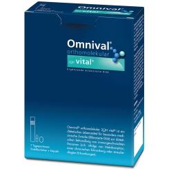 Omnival® orthomolekular 2OH vital® 7 TP Trinkfläschchen + Kapseln