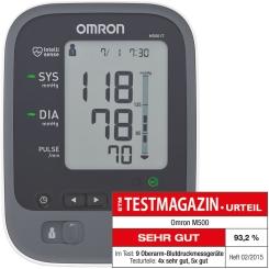 OMRON M500 IT Oberarm Blutdruckmessgerät