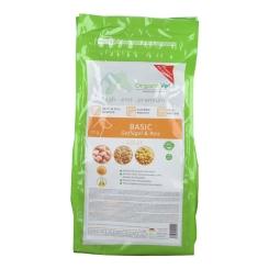 OrganicVet HUND Trockenfutter BASIC Geflügel & Reis