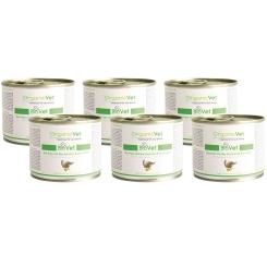 OrganicVet KATZE Nassfutter BIOVET Bio-Pute mit Bio-Zucchini & Bio Kürbis