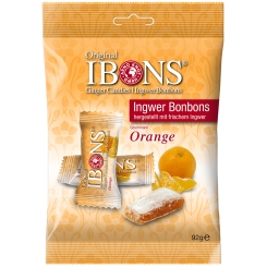 Original IBONS® Ingwer Bonbons Orange