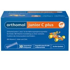 Orthomol junior C plus® Granulat Himbeer/Limette