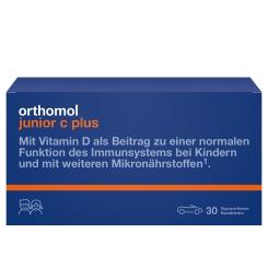 Orthomol junior C plus® Kautablettem Mandarine/Orange