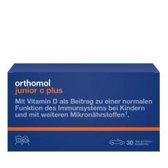 Orthomol junior C plus Kautabletten Waldfrucht