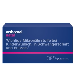 Orthomol Natal Tabletten/Kapseln