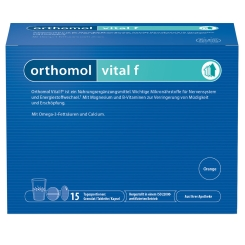 Orthomol Vital f® Granulat/Tablette/Kapsel Orange
