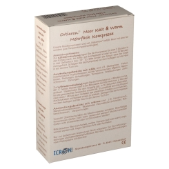 Orticron® Moor Kalt & Warm Mehrfachkompresse 12 x 29 cm