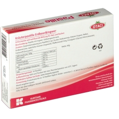 OTACI® Kräuter Pastille Erdbeer & Ingwer