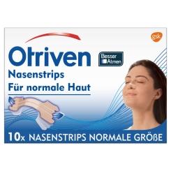 Otriven® Nasenstrips Besser Atmen normal beige
