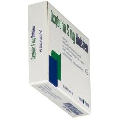 OXYBUTIN 5 mg Holsten Tabletten