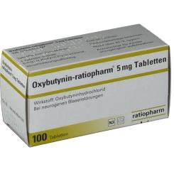Oxybutynin ratiopharm 5 mg Tabl.