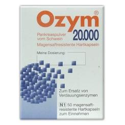 Ozym® 20 000 Kapseln