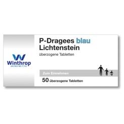 P-Dragees blau Lichtenstein