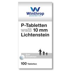 P-Tabletten weiß 10 mm Lichtenstein