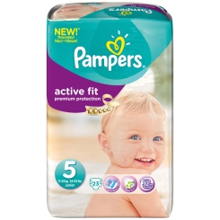 Pampers® Active Fit Gr.5 Junior 11-25kg Sparpack
