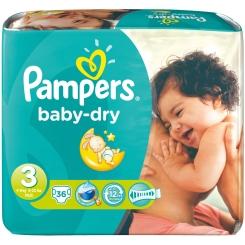 Pampers® baby-dry Gr. 3 midi 4-9 kg Sparpack