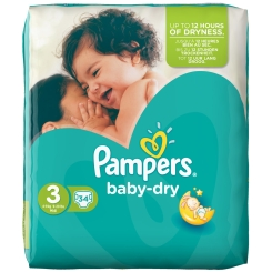 Pampers baby dry Gr.3 Midi Sparpack