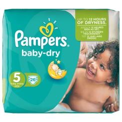 Pampers baby-dry Gr. 5 11- 25 kg Sparpack