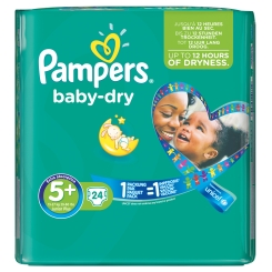 Pampers baby dry Gr. 5+ Junior Sparpack