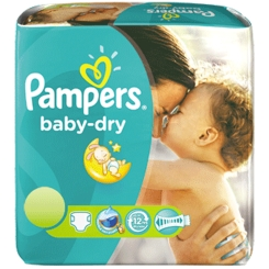Pampers® baby-dry Gr.6 Extra Large 16-40 KG Sparpack