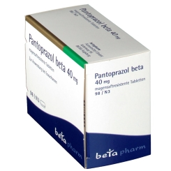 PANTOPRAZOL beta 40 mg magensaftres. Tabletten