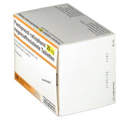 Pantoprazol ratiopharm 20 mg Tabletten