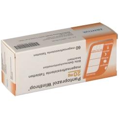 PANTOPRAZOL Winthrop 20 mg magensaftres. Tabletten