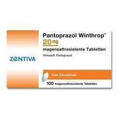 PANTOPRAZOL Winthrop 20 mg